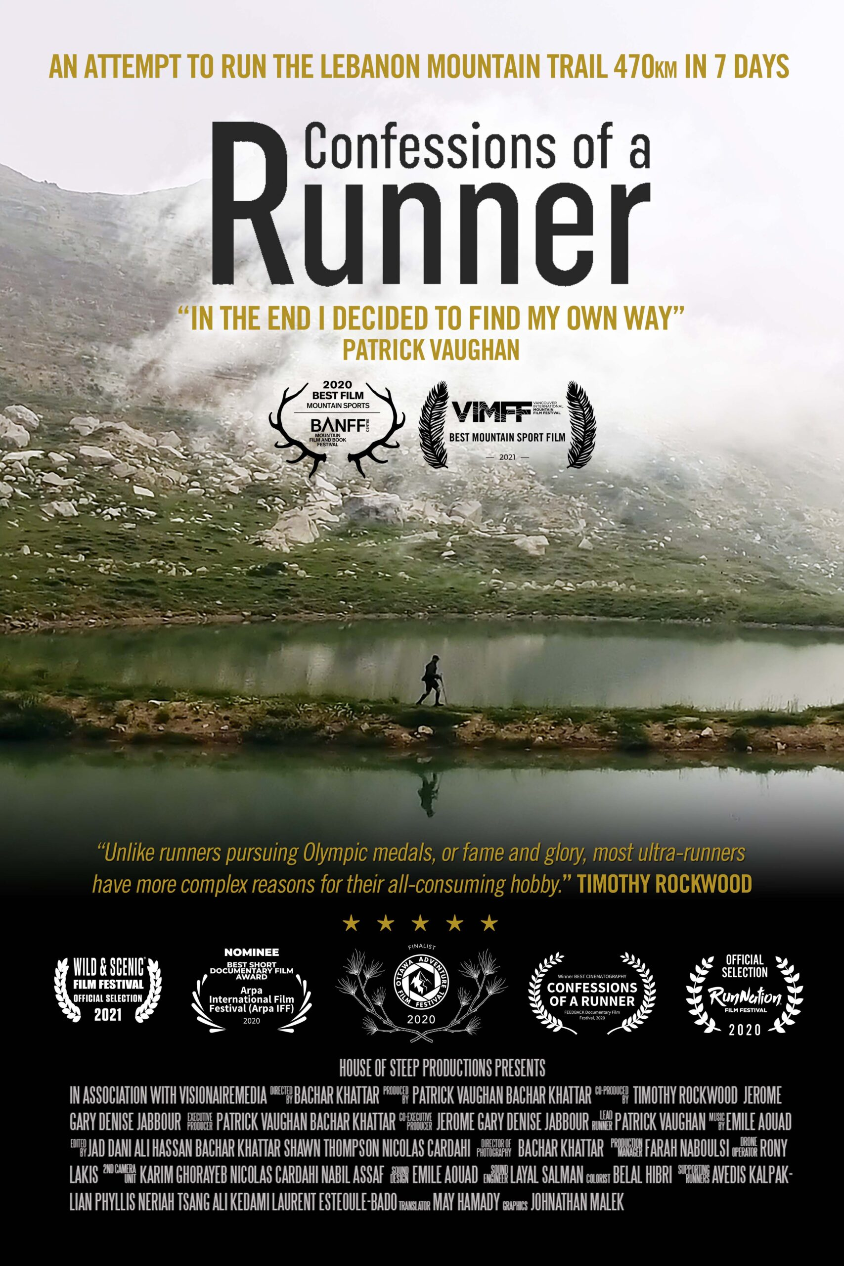 Confessions of a Runner poster