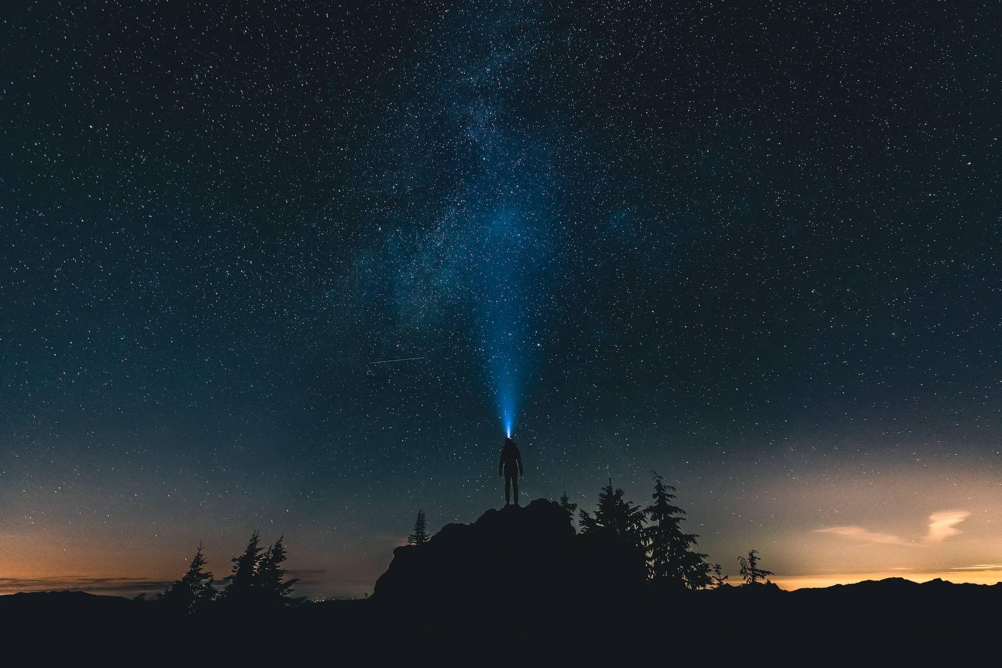runner light to heavens