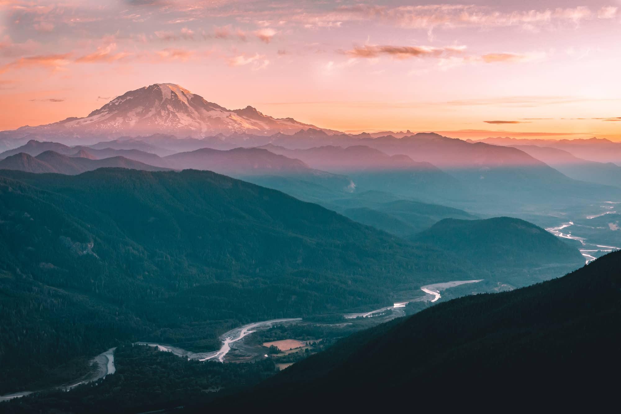 mountain valley stream